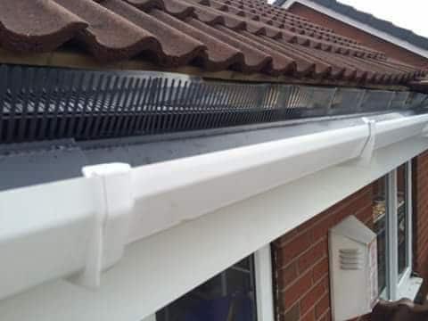 after replacing fascia and soffits normanton